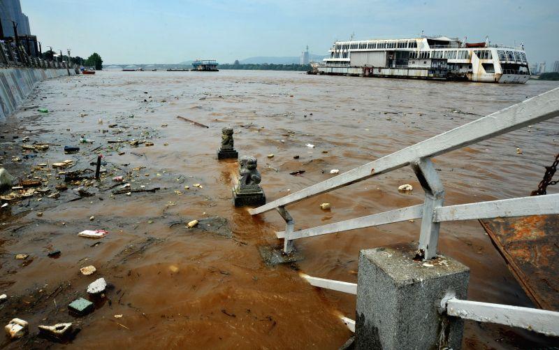 CHINA-CHANGSHA-XIANGJIANG RIVER-FLOOD