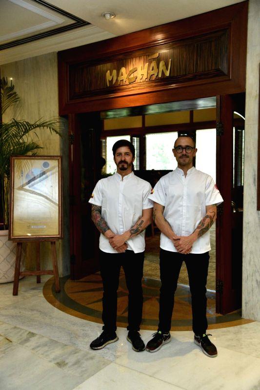 Chef Alejandro & Chef Juan Ortiz.