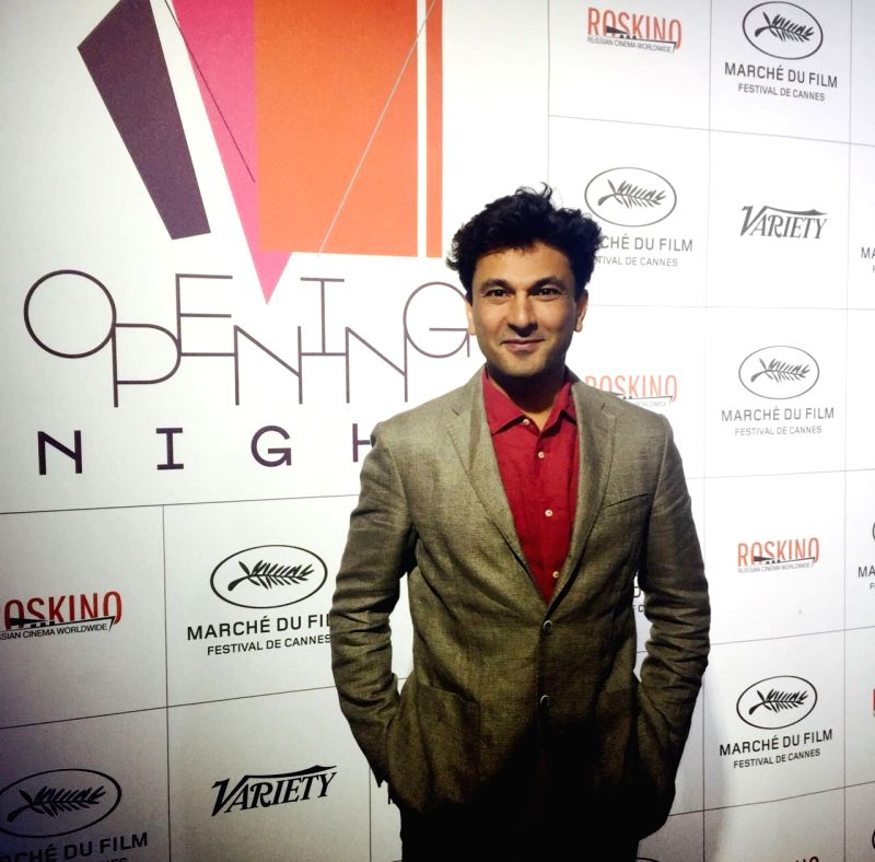 Chef Vikas Khanna during the 69th Cannes Film Festival in Cannes, France, May 13, 2016. - Vikas Khanna