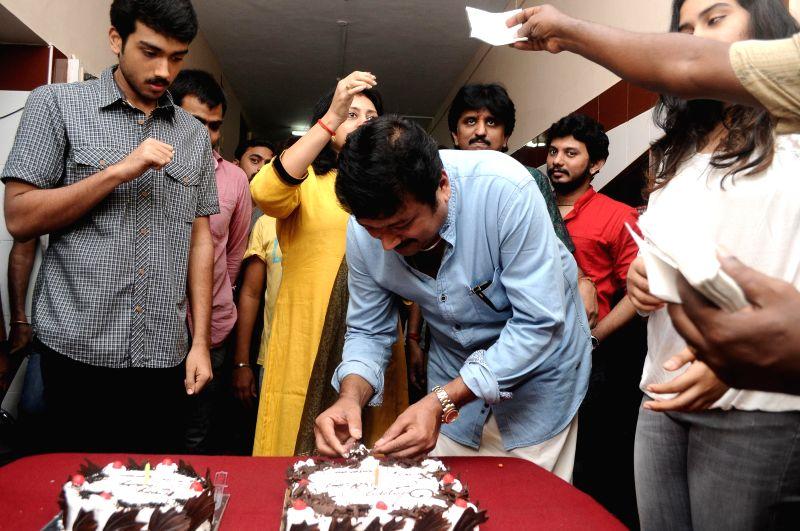 Actor Jayaram Birthday Celebration Stills.