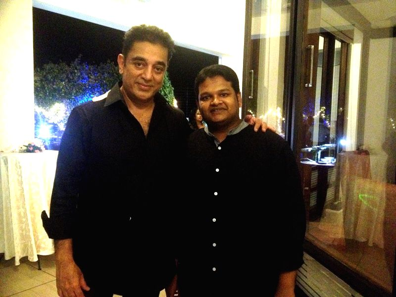 Actor Kamal Haasan during a programme in Chennai on March 16, 2015.
