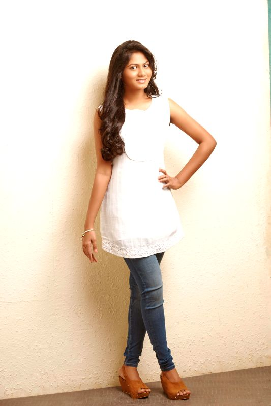 Actress Shruti Reddy poses during a photoshoot.