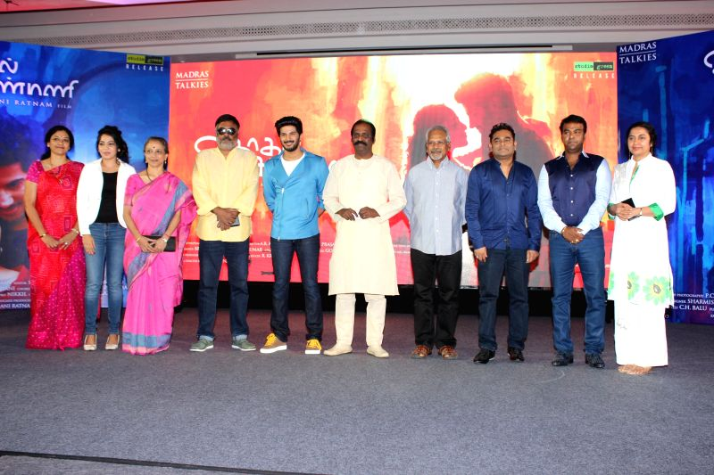 Audio Success Press Meet of Tamil film `O Kadhal Kanmani`.