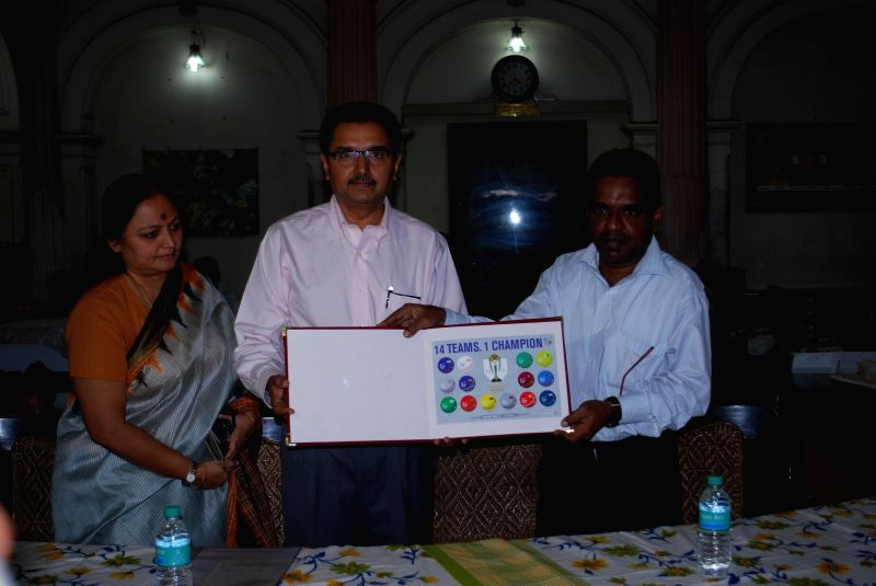 Chennai Postmaster General Mervin Alexander releases the `ICC Cricket  World Cup 2015 memorabilia` in Chennai on Feb 16, 2015.