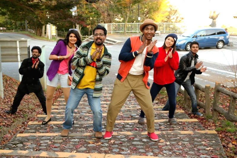 Chennai: Stills from Tamil film `Jumbulingam`.