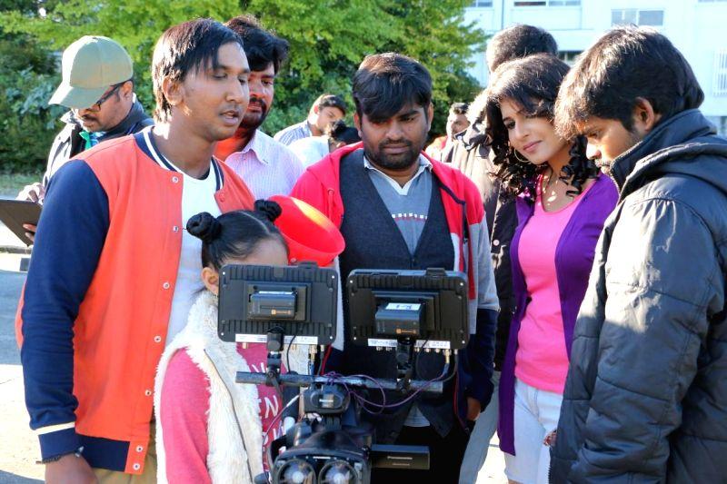 Chennai: Stills from Tamil film `Jumbulingam`.