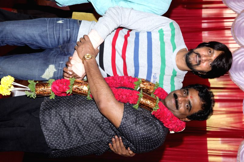 Director KS Ravikumar's New movie pooja.