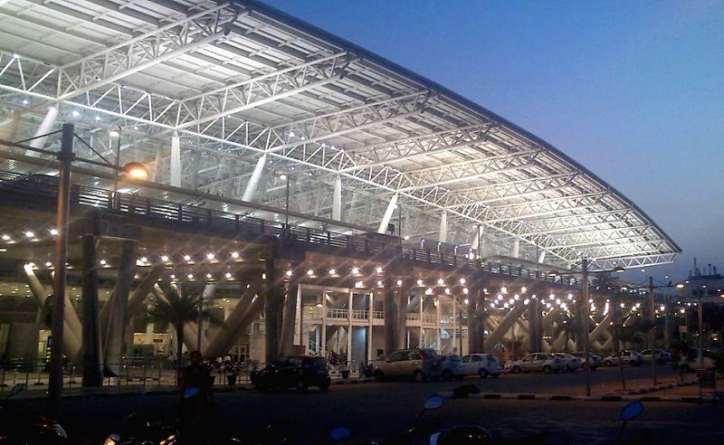 Chennai International Airport.