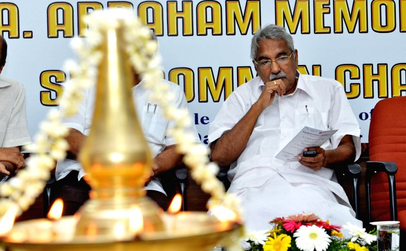 Kerala Chief Minister Oommen Chandy during a programme in Chennai on on Nov 24, 2014. - Oommen Chandy