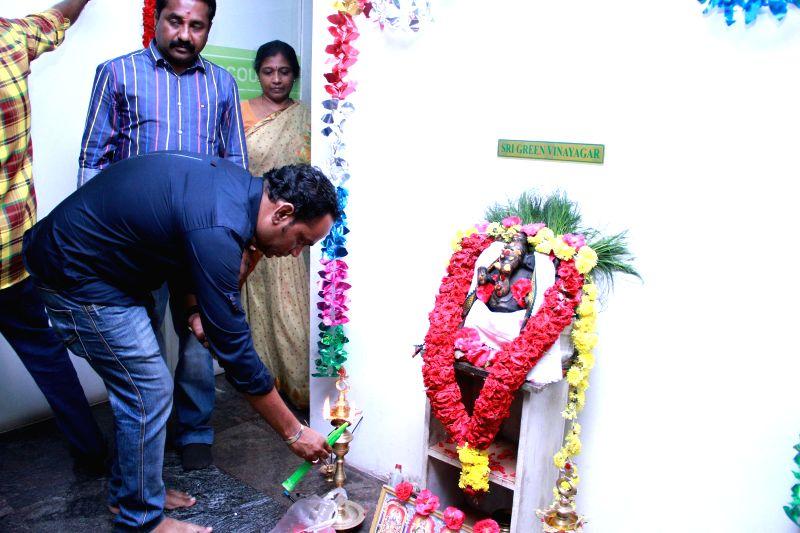 Muhurat of Tamil film `Jackson Durai`.
