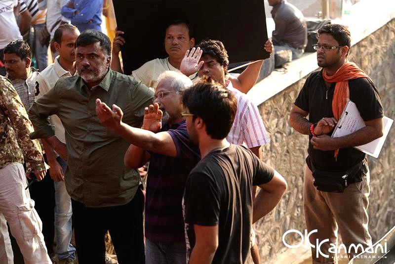 Oh Kadhal Kanmani - shooting.