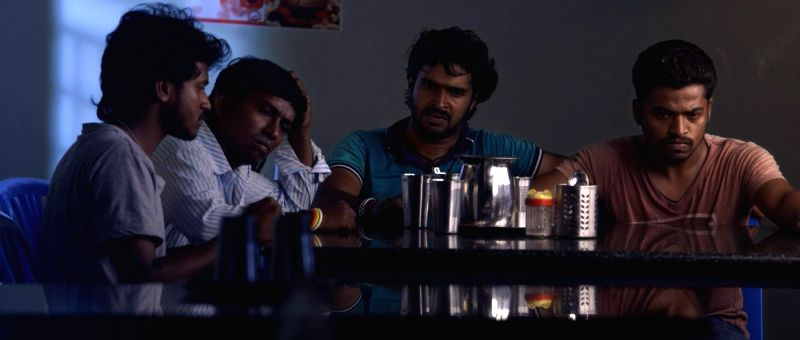 Stills from Tamil film `Chandra Kala`.