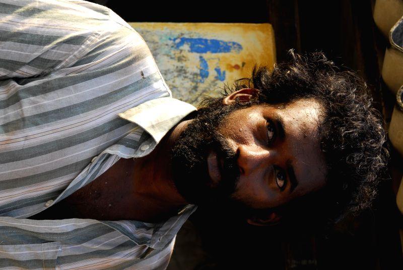 Stills from tamil film ``Dharani`.
