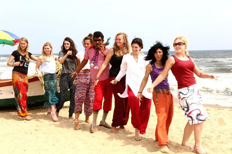 Stills from Tamil film `Eli`.