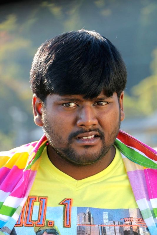 Stills from Tamil film `Jumbo 3D`.