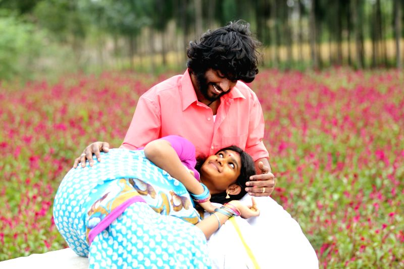 Stills from Tamil film `Kida Poosari Magudi`.