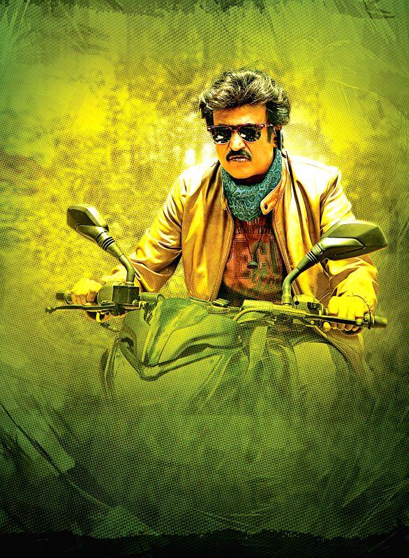 Stills from Tamil film `Lingaa`.
