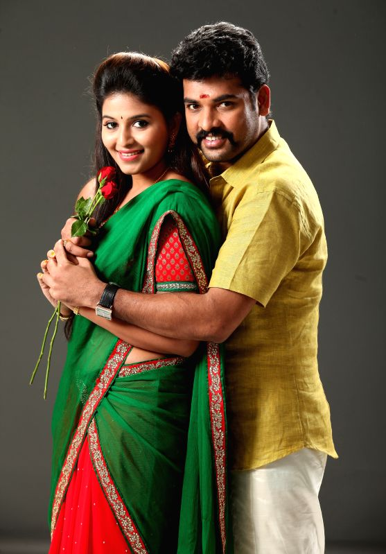 Stills from Tamil film `Mapla Singam`.