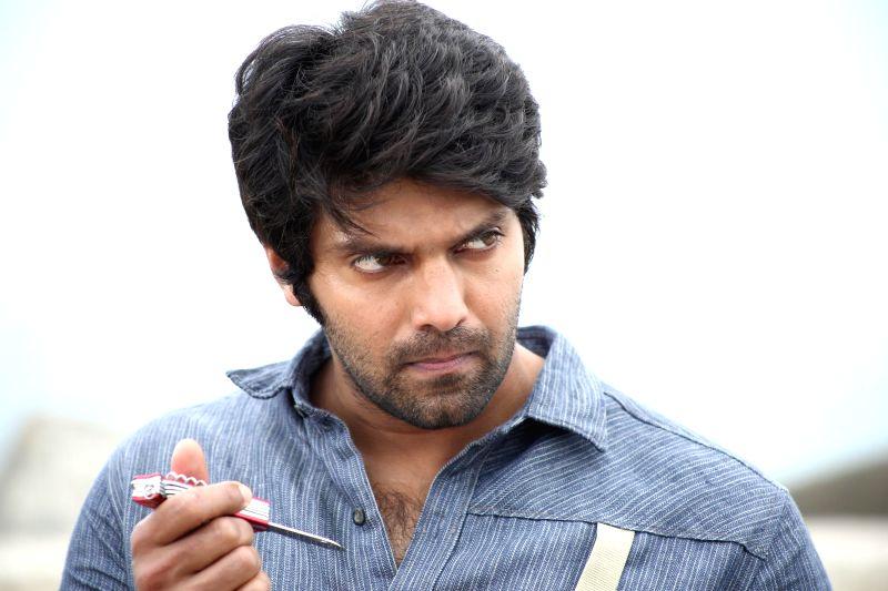 Stills from Tamil film `Meaghamann`.