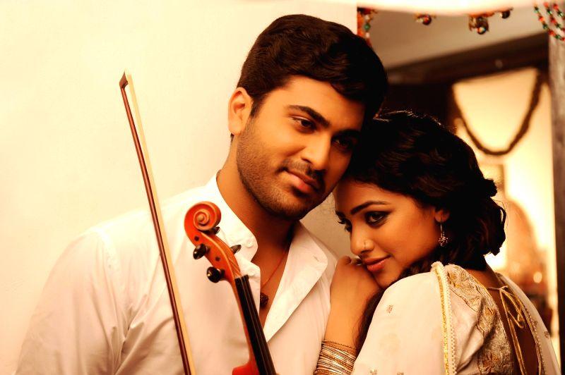 Stills from Tamil film `Naan Nee Naam`.
