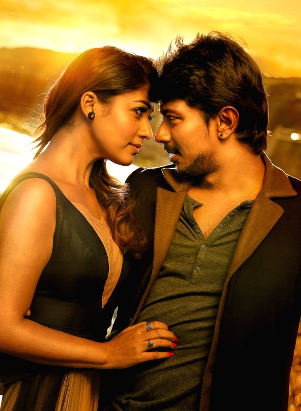 Stills from Tamil film `Nannbenda`.