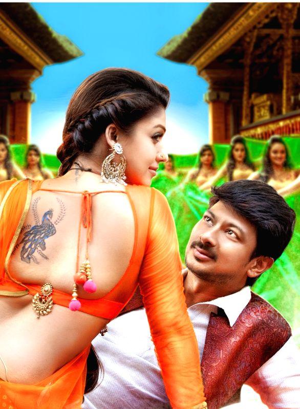 Stills from Tamil film `Nannbenda`.