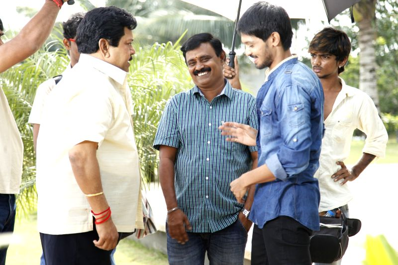 Stills from Tamil film `Narathan`.