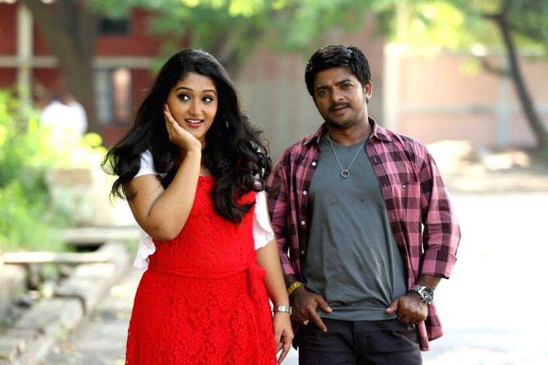 Stills from Tamil film `Onbathilirunthu Paththu`.
