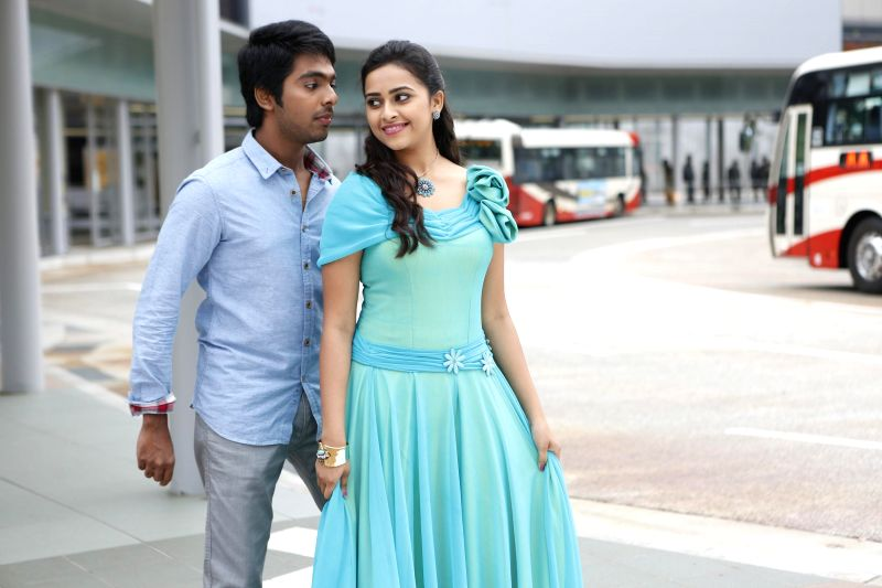 Stills from Tamil film `Pencil`.