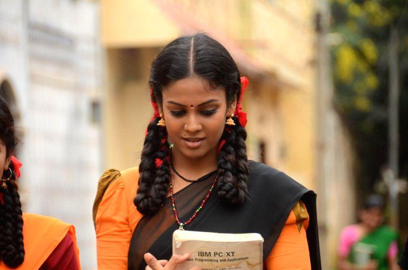 Stills from tamil film `Porkkuthirai`.