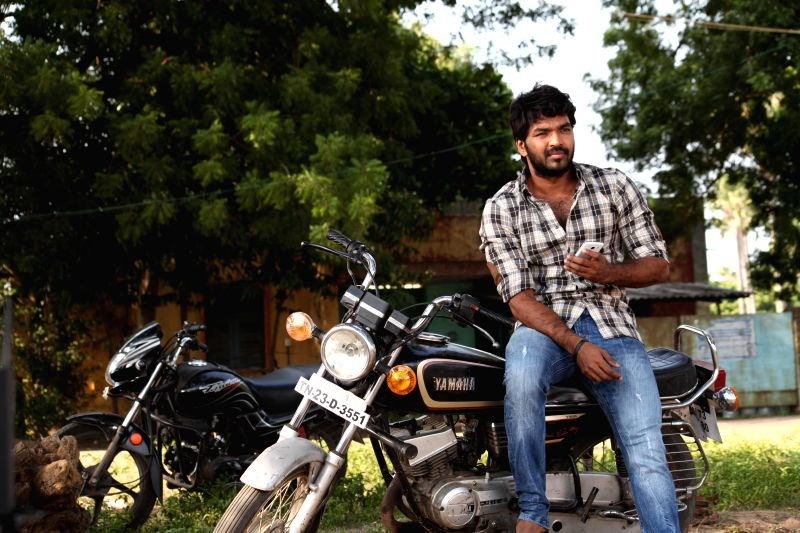 Stills from Tamil film `Pugazh`.