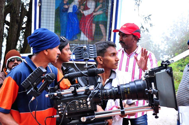 Stills from Tamil film `Saalai Oram`.