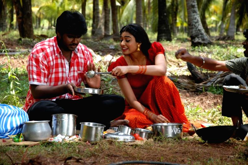 Stills from Tamil film `Sagaptham`.