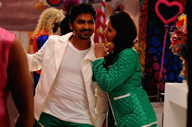 Stills from Tamil film `Suri vs Varalakshmi`.