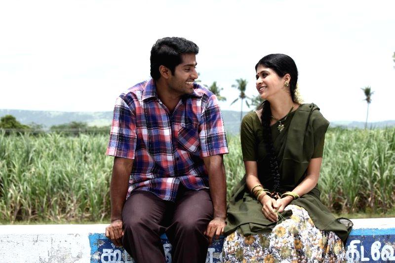 Stills from Tamil film `Thilagar`.