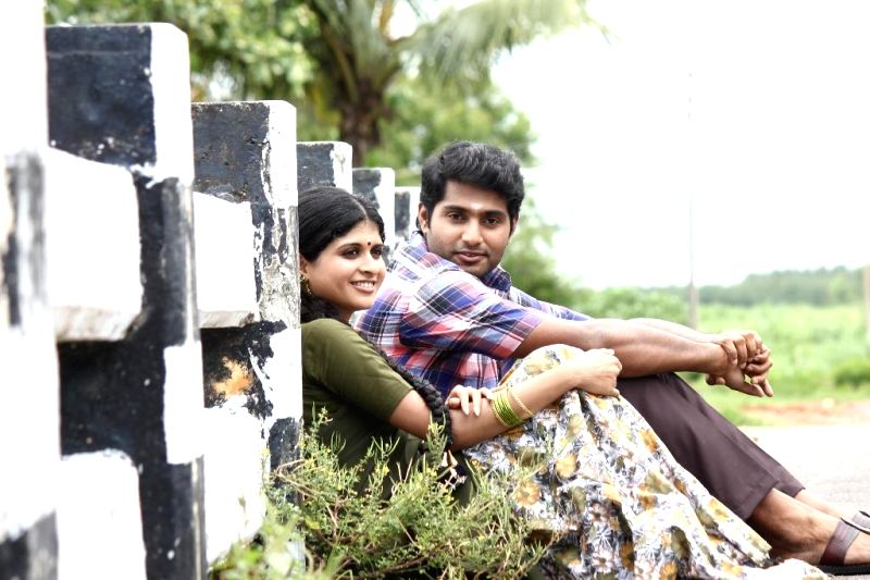 Stills from Tamil film `Thilagar`.