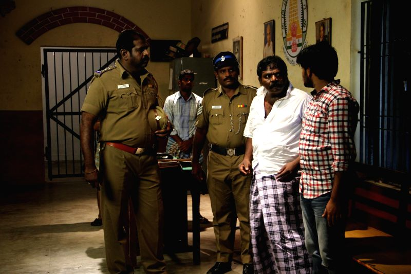 Stills from tamil film ``Thiruttu Rail`.