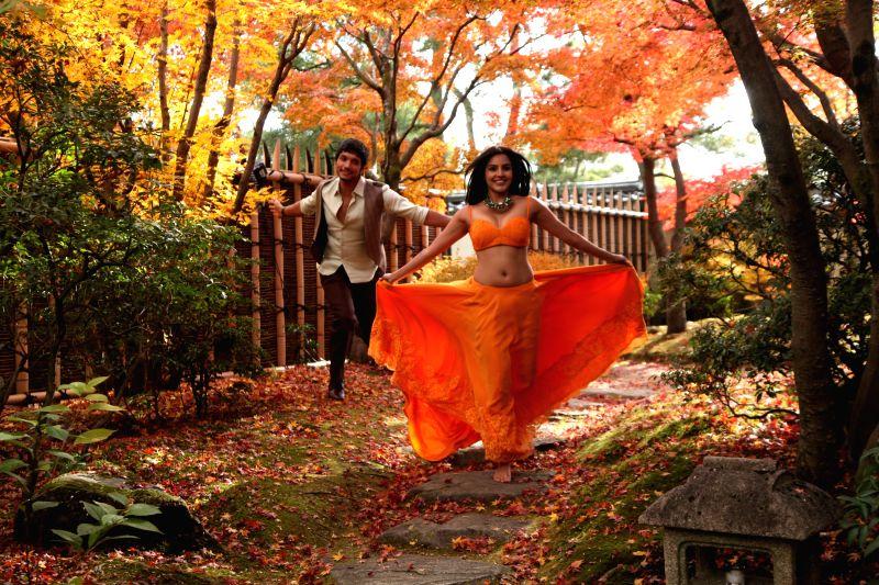 Stills from Tamil film `Vai Raja Vai`.