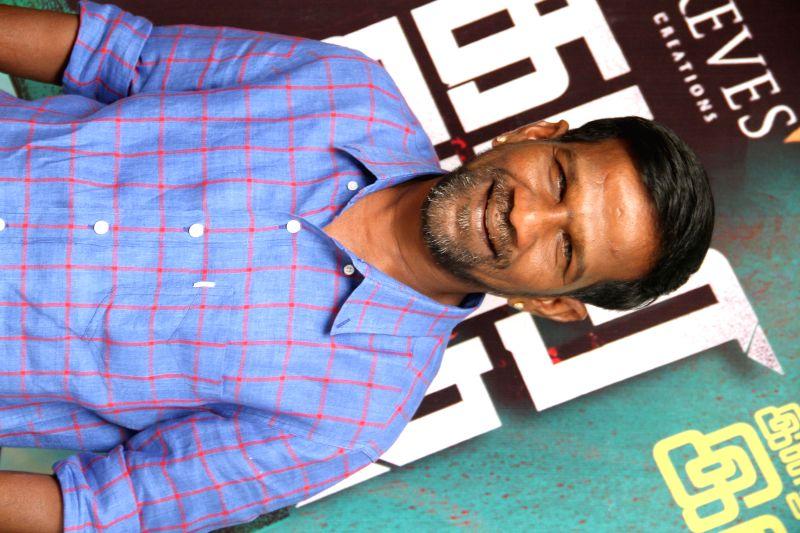 Stills from the audio launch of Tamil film `Kamara Kattu`.