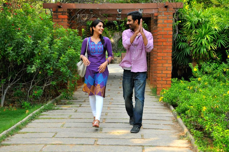 Stills from upcoming Tamil film `Rajathandhiram`.