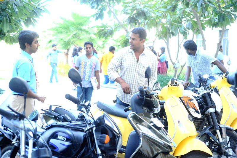 Stills from upcoming Tamil film `Pencil`.