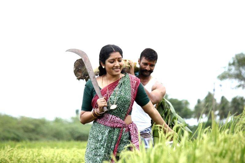 Stills from upcoming Tamil film `Thilagar`.