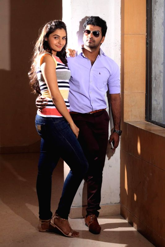 Stills from upcoming Tamil film `valiyavan`.