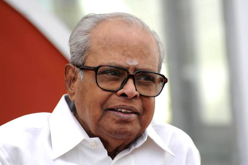Veteran filmmaker K. Balachander passes away . He was 84. (Photo: IANS) .Legendary Tamil movie and drama director, screen writer and producer K. Balachander - who was instrumental in ...
