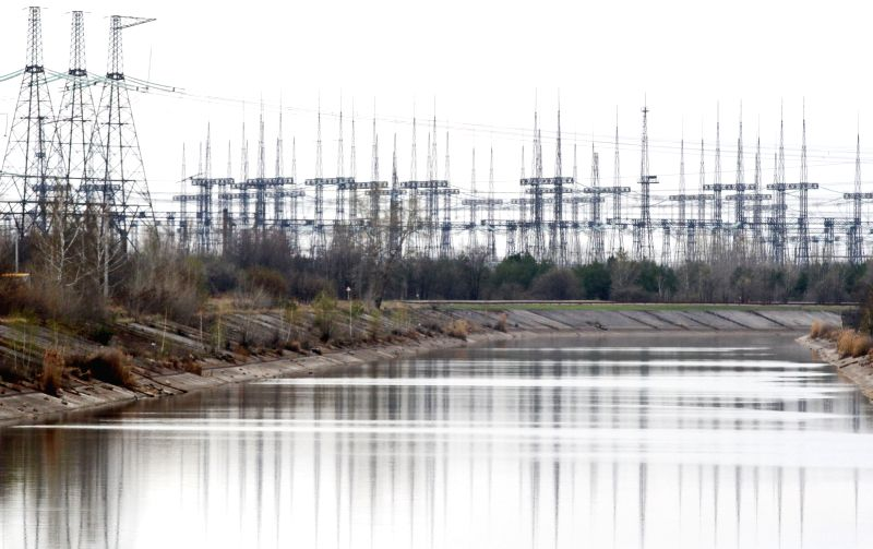 CHERNOBYL, April 8, 2017 - Photo taken on April 5, 2017 shows a canal in Chernobyl, Ukraine. The Ukrainian government has recently declared the territory around Chernobyl nuclear power plant as a ...
