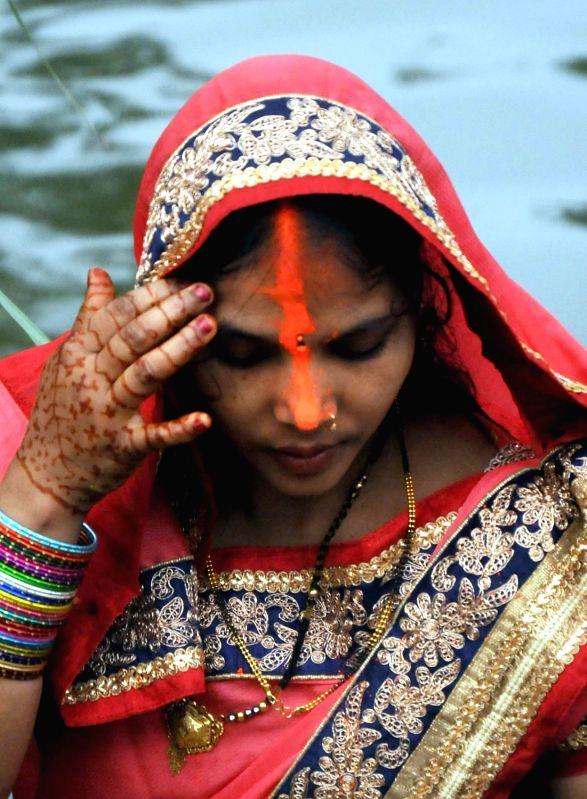 Chhath Puja celebrations in Bengaluru on Nov 17, 2015.