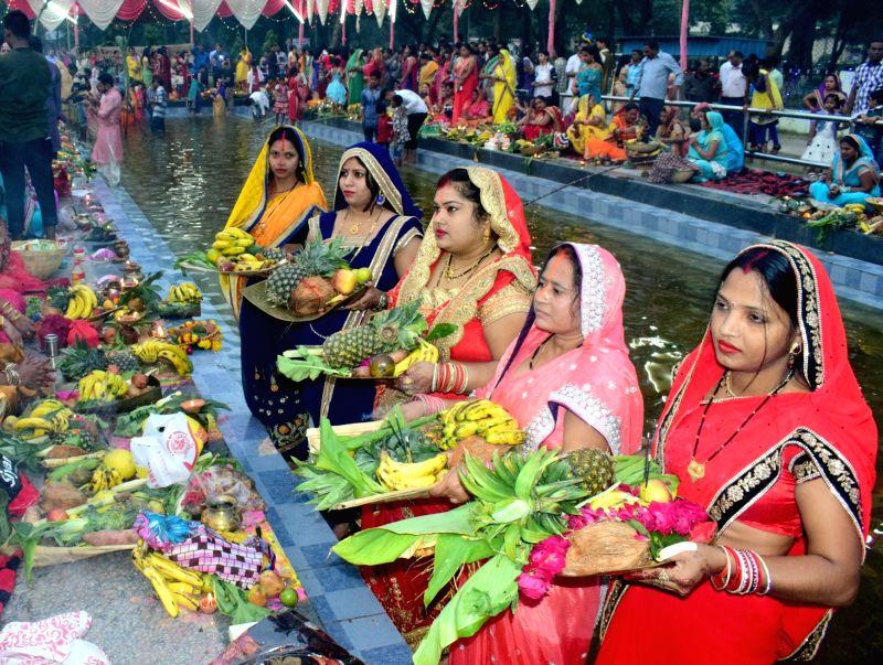 Chhath Puja rituals underway in Mathura
