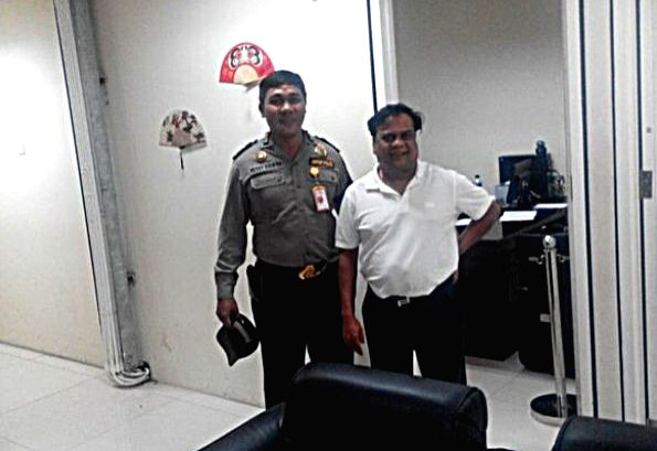 Chhota Rajan after his arrest in Indonesia in 2015.