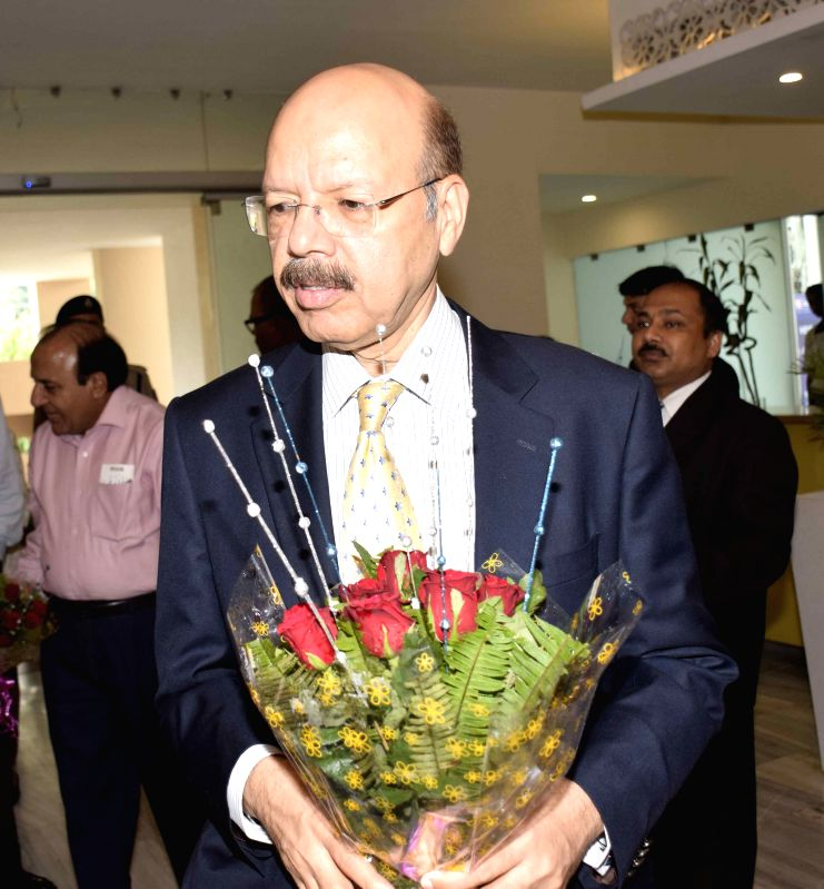 Chief Election Commissioner Nasim Zaidi arrives to attend a programme in Patna on Aug 7, 2015.