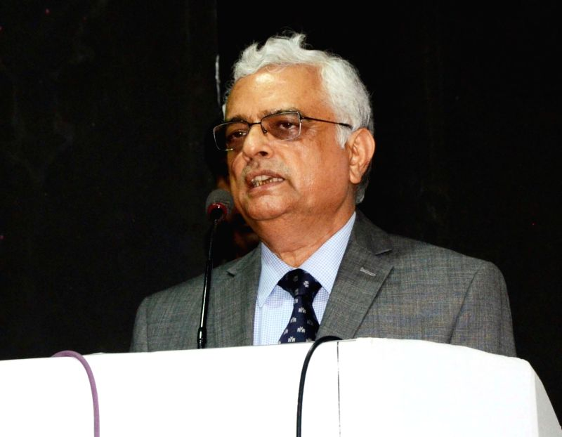 Chief Election Commissioner OP Rawat addresses during a programme in Nagpur on Aug 7, 2018.